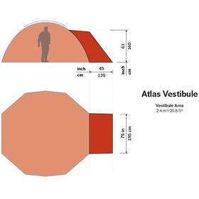 Hilleberg Atlas - Accessoire tente - rouge